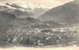 73 ALBERTVILLE VUE GENERALE CIRCULEE 1904 - Albertville