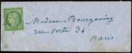 Let EMISSION DE 1849 - 2    15c. Vert, Obl. ETOILE Légère S. Env., Timbre Et Frappe TTB - 1849-1850 Ceres