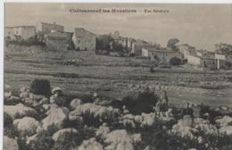 ALPES DE HAUTE PROVENCE (04)  Chauvet De Chateauneuf Les Moustiers Vue Generale - Sonstige Gemeinden