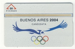 ARGENTINA___Landis Gyr POPI___ARG-PO-18 (CN: 701L) Olympic Games__rare L&G - Argentine
