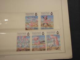 BAHAMAS - 1999 UCCELLI 5 VALORI - NUOVI(++) - Bahamas (1973-...)