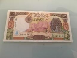 Billet 50 Pounds Syrie 1998 - Siria