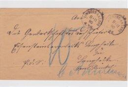1 Briefumschlag Von Limburg A.d. Lahn Aus Dem Jahr 1880 - Documentos Históricos