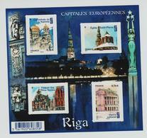Feuille 4938 Capitale Européenne - Riga  NEUF** - Ongebruikt