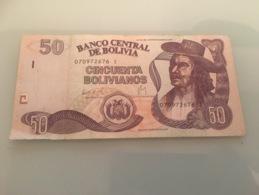 Billet 50 - Bolivianos - Bolivie - 2007 - Bolivie