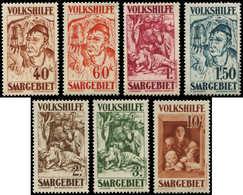 ** SARRE 141/47 : Oeuvres Populaires 1931, La Série, TB - 1920-35 Société Des Nations