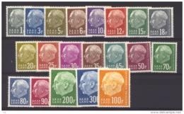 00447  - Sarre   :   Yv  391-410  ** - 1957-59 Fédération