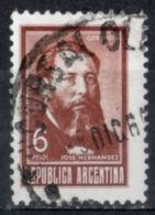 Argentina 1968 - José Hernandez Scrittore Giornalista Writer Journalist - Gebraucht