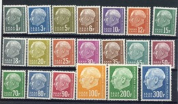 Sarre  :  Yv  391-410  ** - 1957-59 Fédération