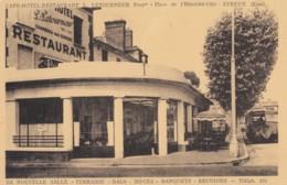 CPA - Evreux - Café Hôtel Restaurant L. Letourneur Propriétaire - Place De L'Hôtel De Ville - Evreux
