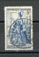 FRANCE - CELIMENE - N° Yvert 956 Obli. Ronde De MENTHON St BERNARD 1954 - France