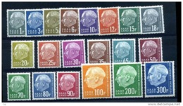 Sarre  :  Yv  391-410  **      ,  N2 - 1957-59 Fédération