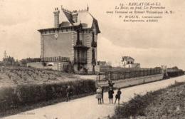 Rablay-sur-Layon Animée La Brise Les Pervenches Vignes Vignoble - Other Municipalities