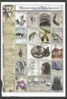 O1200 MONGOL POST MILLENNIUM OF EXPLORATION CHARLES DARWIN 1809-1882 1SH MNH DAMAGED EDGES - Storia