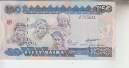 RT33.288  BILLET DE BANQUE CENTRAL BANK OF NIGERIA. FIFTY NAIRA .N50. - Nigeria