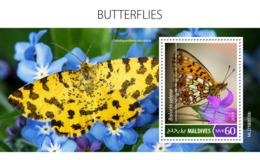Maldives 2019  Fauna Butterflies   S201908 - Maldivas (1965-...)