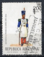 Argentina 1969 - Giornata Delle Forze Armate Army Day Guastatore Sapper - Oblitérés