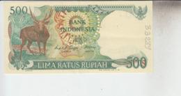 RT33.289  BILLET DE BANQUE BANK INDONESIA.500 LIMA RATUS RUPIAH - Indonesia