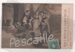 MALAGA - CP PUBLICITAIRE HIJO Y NIETO DE F. RAMOS TELLEZ VINS FINS - DON QUIJOTE - PARTE PRIMERA CAPITULO III - 1906 - Málaga