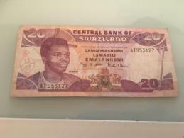 Billet 20 Emalangeni Swaziland 2004 - Swaziland