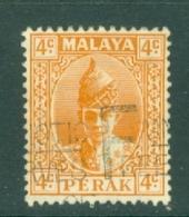 Malaya - Perak: 1938/41   Sultan Iskandar   SG107    4c     Used - Perak