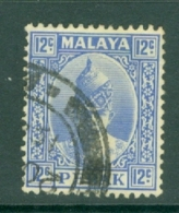 Malaya - Perak: 1938/41   Sultan Iskandar   SG113    12c     Used - Perak