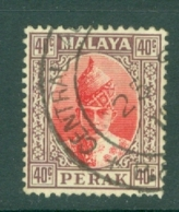 Malaya - Perak: 1938/41   Sultan Iskandar   SG117    40c    Used - Perak