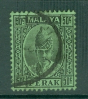 Malaya - Perak: 1938/41   Sultan Iskandar   SG118    50c    Used - Perak