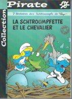 """LES SCHTROUMPFS   """" LA SCHTROUMPFETTE ET LE CHEVALIERT """" ( PEYO  ) - DUPUIS - Schtroumpfs, Les"""
