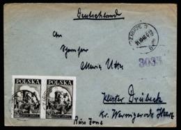 A6321) Polen Poland Brief Zabrze 21.10.46 OS Hindenburg - 1944-.... Republic