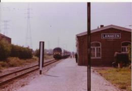 LANAKEN STATION MET TREIN NAAR MAASTRICHT 1990  662 - Lanaken