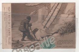 MALAGA - CP PUBLICITAIRE HIJO Y NIETO DE F. RAMOS TELLEZ VINS FINS - DON QUIJOTE - PARTE PRIMERA CAPITULO VIII - 1906 - Málaga