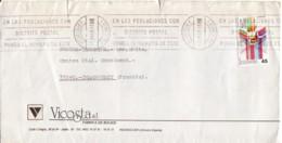 ESPAGNE : 1986 - Lettre Commerciale  Pour La France - 1931-Oggi: 2. Rep. - ... Juan Carlos I