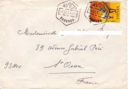ESPAGNE : 1973 - Lettre Par Avion Pour La France - 1931-Oggi: 2. Rep. - ... Juan Carlos I