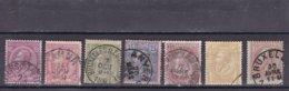 BELGIQUE 1884-91 - 42 - 46 Used - 1884-1891 Leopold II