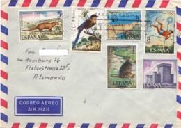 ESPAGNE : 1973? - Lettre Par Avion Pour L'Allemagne - Oiseau - JO - 1931-Oggi: 2. Rep. - ... Juan Carlos I
