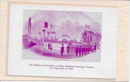 OOSTENDE: DE LANDING TE OOSTENDE VAN HARE MAJESTEIT KONINGIN VICTORI VAN ENGELAND IN 1843 - Oostende