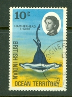 British Indian Territory (BIOT): 1968/70   QE II - Marine Life   SG17    10c   Used - British Indian Ocean Territory (BIOT)