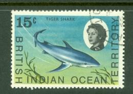 British Indian Territory (BIOT): 1968/70   QE II - Marine Life   SG18    15c   Used - British Indian Ocean Territory (BIOT)