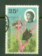 British Indian Territory (BIOT): 1968/70   QE II - Marine Life   SG20    25c   Used - British Indian Ocean Territory (BIOT)