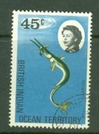 British Indian Territory (BIOT): 1968/70   QE II - Marine Life   SG22    45c   Used - British Indian Ocean Territory (BIOT)