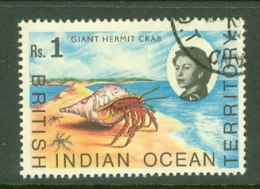 British Indian Territory (BIOT): 1968/70   QE II - Marine Life   SG25    R1   Used - British Indian Ocean Territory (BIOT)
