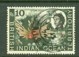 British Indian Territory (BIOT): 1968/70   QE II - Marine Life   SG30    R10   Used - British Indian Ocean Territory (BIOT)