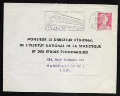 Entier Enveloppe Muller 15F TSC . Institut National De La Statistique - Standard- Und TSC-Briefe (vor 1995)