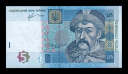 Ucrania Ukraine 5 Hryven 2013 Pick 118d SC UNC - Ucrania