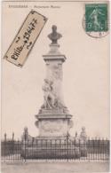 13 Eyguières - Cpa / Monument Monier. Circulé 1909. - Eyguieres