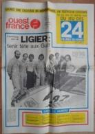 24 H Du Mans 1975. Ligier Tenir Tête Aux Gulf.Barquette Alpine-Renault. - Desde 1950