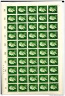Sarre  :  Yv  420  **   En Feuille - 1957-59 Fédération