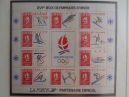 1992 CERES BLOC DES XVIe   J. O. D'HIVER 1992 ** - Frankrijk
