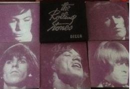 The Rolling Stones- Coffret Decca - 5 Disques - Pochette Noire Un Peu Passée ,env Int Excellent - Disque Trés Bon état - Rock